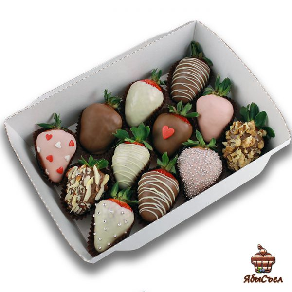 Клубника в шоколаде — «Впечатление» | 12 ягод