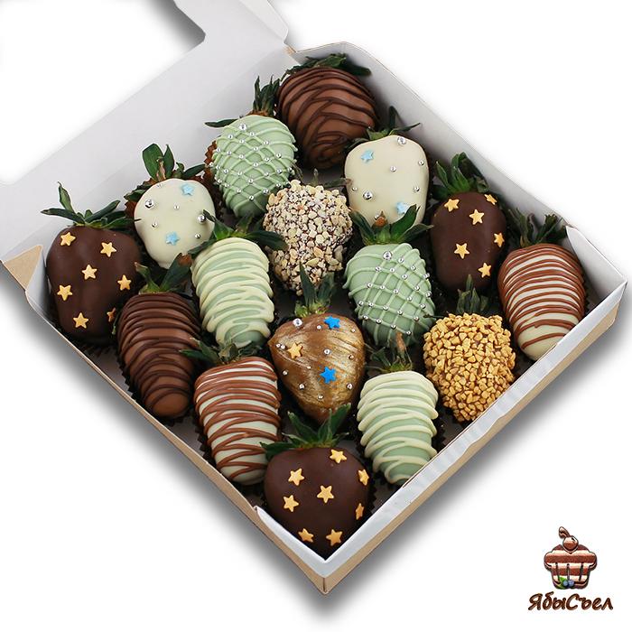 Клубника в шоколаде — «Млечный путь» | 16 ягод