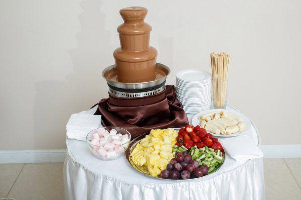Детский шоколадный фонтан (3 яруса)