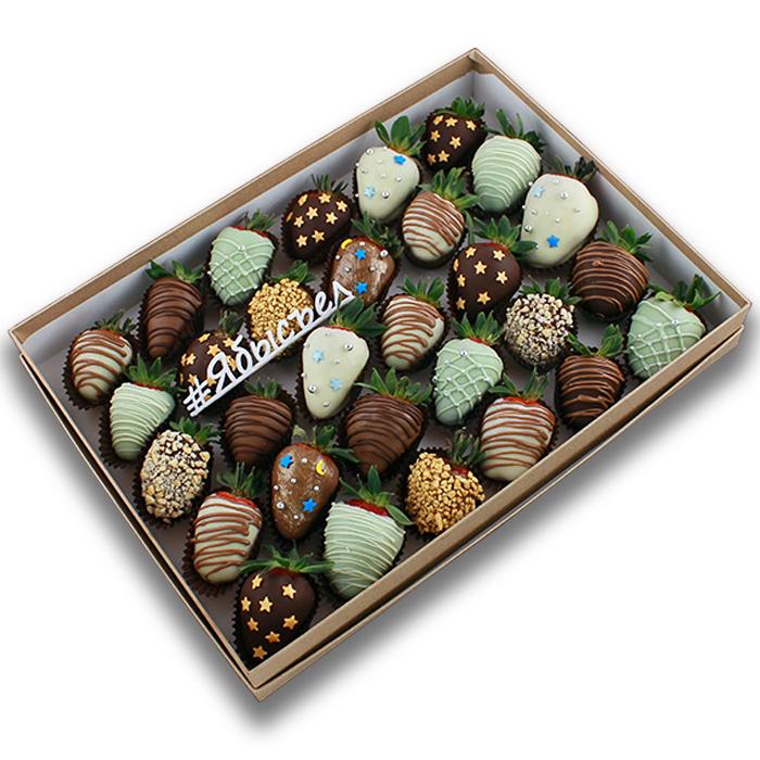 Клубника в шоколаде — «Млечный путь» | 30 ягод