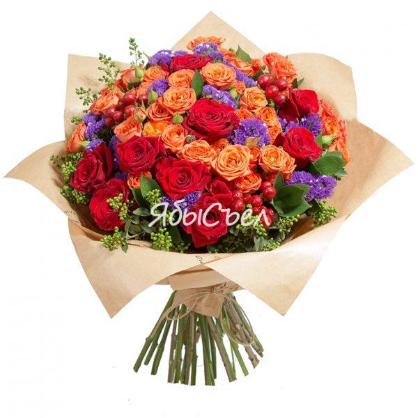Букет цветов — «Волшебная Страна»