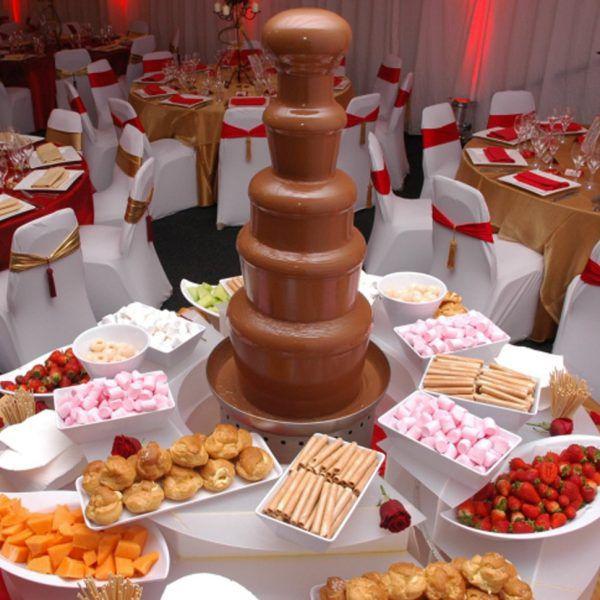 Шоколадный фонтан (5 ярусов)