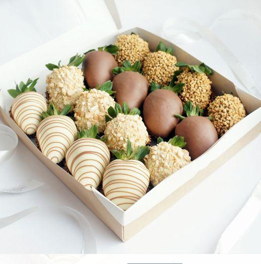 Клубника в шоколаде — «Очарование» | 16 ягод