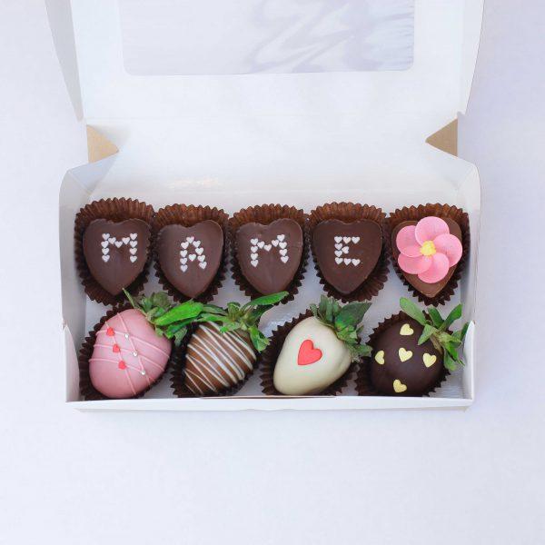 Набор клубники в шоколаде с конфетами №5