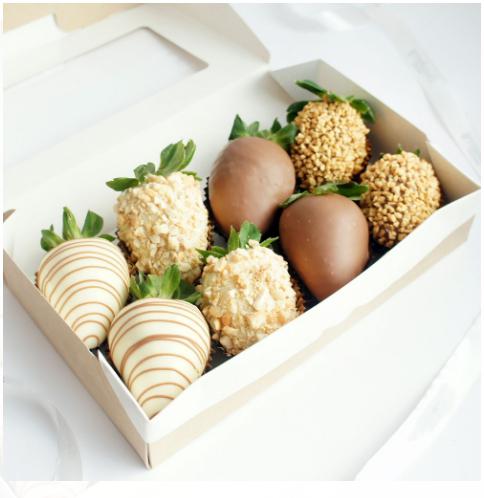 Клубника в шоколаде — «Очарование» | 8 ягод