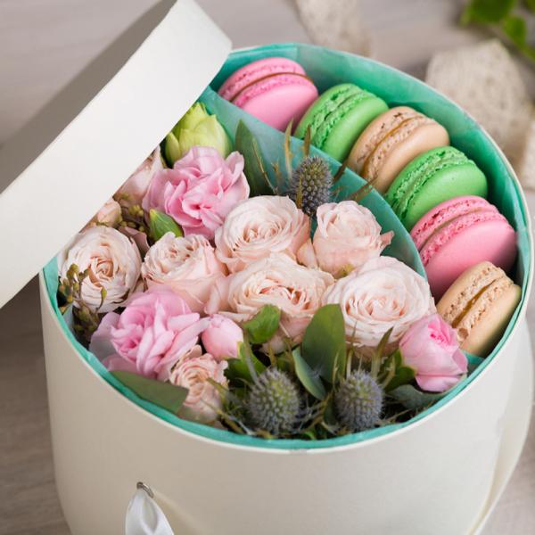 Макарони с цветами №4