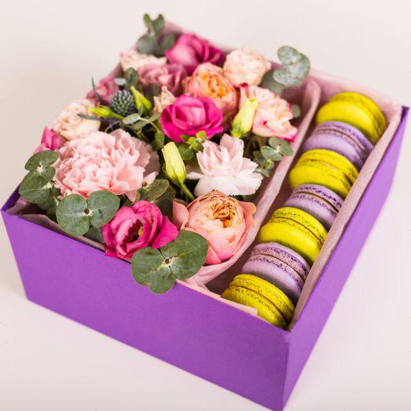 Макарони с цветами №3