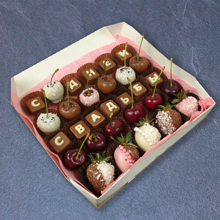 фрукты в шоколаде на свадьбу