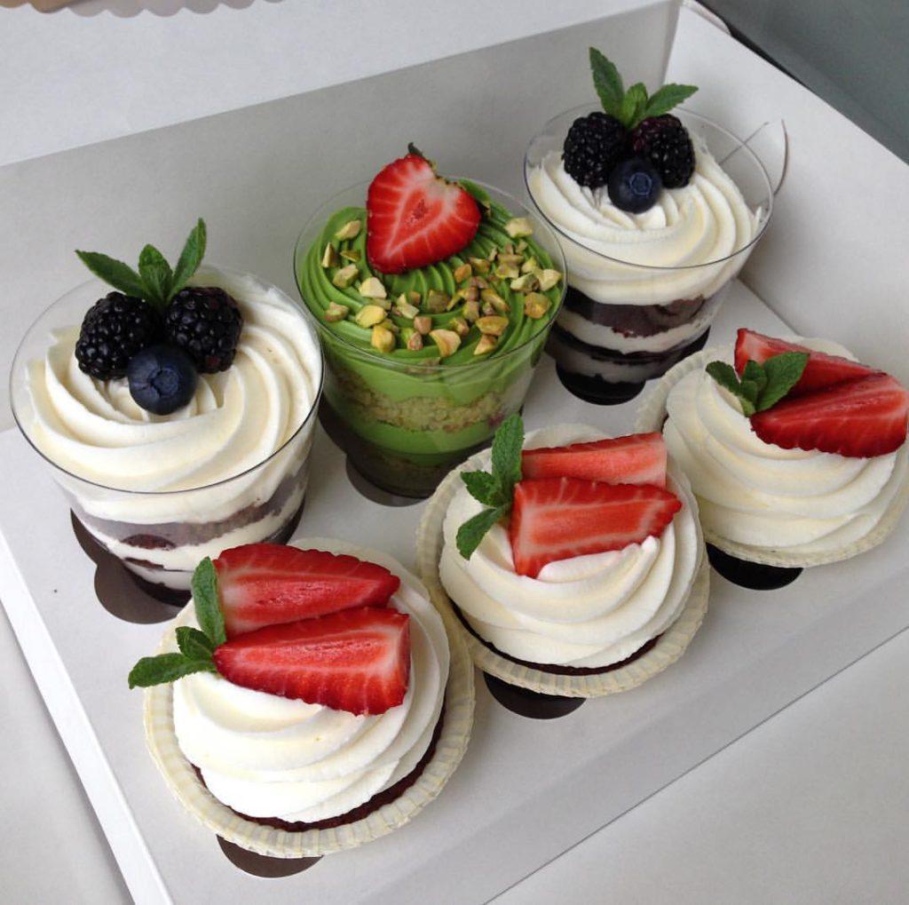 Десерт-набор «Трафл + Капкейк»