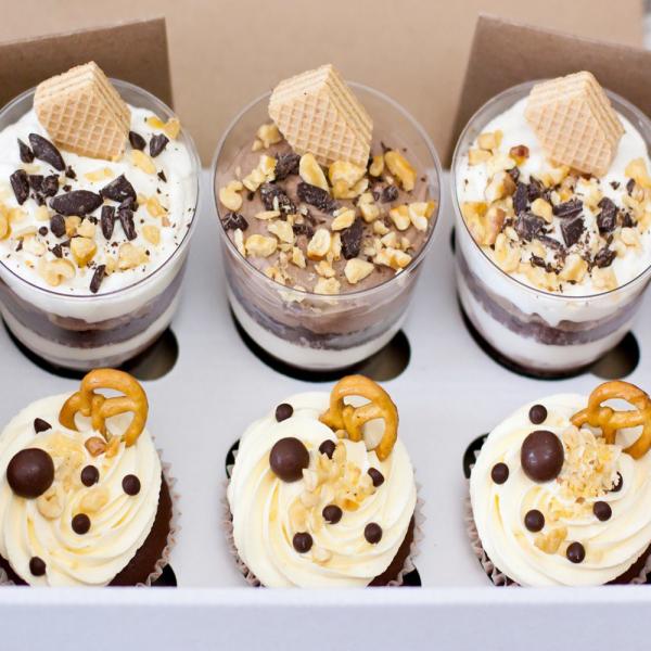 Десерт-набор «Трафл + Капкейк» 2