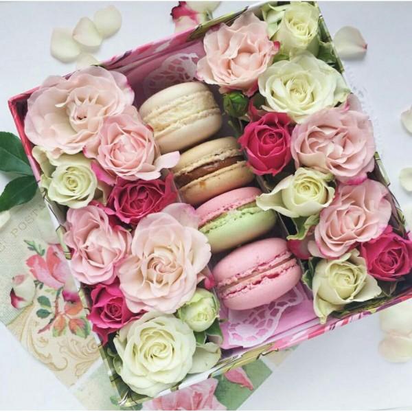 Макарони с цветами №2